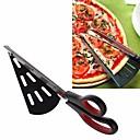 hesapli Fırın Araçları ve Gereçleri-Ayrılabilir pizza makas bıçak paslanmaz çelik pizza kesici dilimleme pişirme araçları mutfak