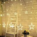 preiswerte Ausgefallene LED-Lichter-3m 12 Sterne Lichter Weihnachten Halloween dekorative Lichter festliche Streifen Lichter mit Sternen (220V)