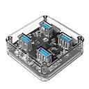 hesapli USB Kabloları-ORICO 4 USB Hub Mikro USB Tip A USB 3.0 Yüksek Hız Veri Merkezi