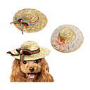 hesapli Pet Noel Kostümleri-Kedi Köpek Bandanalar ve Şapkalar Köpek Giyimi Fiyonk Düğüm Yeşil Pembe Gökküşağı Diğer Malzeme Kostüm Evcil hayvanlar için yeni Fiyonklu