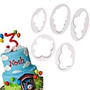cheap Bakeware-Bakeware tools Plastics Baking Tool Everyday Use Cake Molds 1 set