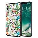 ieftine Ecrane Protecție Tabletă-Maska Pentru Apple iPhone X / iPhone 8 Plus / iPhone 8 Model Capac Spate Flamingo / Animal / Floare Moale TPU