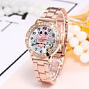 preiswerte Damenuhren-Damen Armbanduhr Chinesisch Armbanduhren für den Alltag Legierung Band Freizeit / Modisch / Elegant Silber / Gold / Rotgold