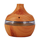 cheap Smart Lights-MW504 Woodgrain Humidifier Ball Humidifier Water Droplets Humidifier Woody Aromatherapy Machine