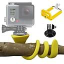 hesapli Ev Dekorasyonu-Aksiyon Kamerası / Spor Kamera Zestaw Esnek Mandal Dış Mekan Ayarlanabilir Uzunluk Kılıf Çok-fonksiyonlu Katlanabilir İçin Aksiyon
