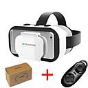 hesapli VR Glasses-vr shinecon 5.0 gözlük sanal gerçeklik 3d gözlük 4.7 - 6.0 inç telefon denetleyicisi ile