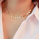 preiswerte Halsketten-Damen Halsketten damas Grundlegend Kupfer Gold Silber Modische Halsketten Schmuck Für Alltag Ausgehen