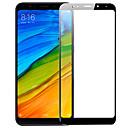 hesapli Xiaomi İçin Ekran Koruyucuları-ASLING Ekran Koruyucu için XIAOMI Xiaomi Redmi 5 Plus Temperli Cam 1 parça Tam Kaplama Ekran Koruyucular Yüksek Tanımlama (HD) / 9H Sertlik / 2.5D Kavisli Kenar