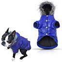 preiswerte Hundespielsachen-Hund Mäntel / Kapuzenshirts / Pyjamas Hundekleidung Solide Purpur / Blau / Rosa Baumwolle Kostüm Für Haustiere Herrn / Damen Lässig / Alltäglich