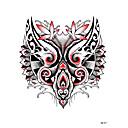 저렴한 커프링크-문신 스티커 임시 문신 팔 / 어깨 1 pcs 일상