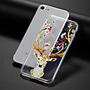 cheap Galaxy A Series Cases / Covers-Case For Apple iPhone 7 / iPhone 7 Plus Transparent / Embossed / Pattern Back Cover Animal / Flower Soft TPU for iPhone 7 Plus / iPhone 7 / iPhone 6s Plus