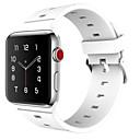 Ver Banda para Apple Watch Series 3 / 2 / 1 Apple Correa Deportiva Hebilla Clásica Silicona Correa de Muñeca
