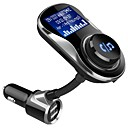 cheap Car Paint Pen-BC26 Wireless Adapter Bluetooth 4.1 Wireless Music Receiver FM Transmitter Handsfree Car Kit LCD Display USB Charger for Phone