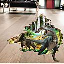 tanie Dekoracyjne naklejki-Dekoracyjne naklejki ścienne - Naklejki naścienne zwierząt Zwierzęta / 3D Gabinet / Office / Pokój dla dzieci