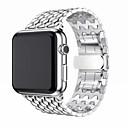 abordables Bracelets Apple Watch-Bracelet de Montre  pour Apple Watch Series 4/3/2/1 Apple Boucle Classique Acier Inoxydable Sangle de Poignet