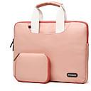 hesapli Saç Takıları-El Çantaları Kollar için Solid Renkli Tek Renk PU Deri MacBook Air 11-inç