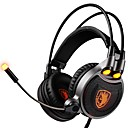 cheap Headsets & Headphones-SADES R1 Headband Wired Headphones Dynamic Plastic Gaming Earphone Headset