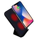 baratos Carregadores para Celular-Carregador Sem Fios Carregador USB USB Carregador Sem Fios / Qi 1 Porta USB 2 A para iPhone 8 Plus / iPhone 8 / S8 Plus