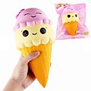 cheap Stress Relievers-LT.Squishies Squeeze Toy / Sensory Toy Stress Reliever Food&Drink Ice Cream Stress and Anxiety Relief Office Desk Toys Relieves ADD, ADHD, Anxiety, Autism 1 pcs Kid's Adults' Unisex Boys' Girls' Toy