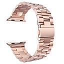 ราคาถูก ไฟจักรยาน-สายนาฬิกา สำหรับ Apple Watch Series 3 / 2 / 1 Apple ผีเสื้อหัวเข็มขัด เหล็ก สายห้อยข้อมือ