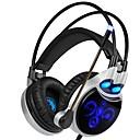 hesapli Kılıflar, Çantalar ve Askılar-SADES R8 Saç Bandı Kablolu Kulaklıklar Dinamik Plastik Oyunlar Kulaklık Mikrofon ile kulaklık