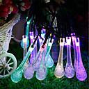 hesapli LED Şerit Işıklar-GMY® 6m Dizili Işıklar 30 LED'ler 6M String Light Çok Renkli Dekorotif <5 V 1set / IP65