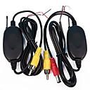 ieftine Cameră de Vedere Spate-ziqiao 2.4ghz wireless rca av receptor de transmițător video pentru monitorul din spate monitor auto dvd mp5 player