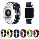 billiga Bakljus-Klockarmband för Apple Watch Series 4/3/2/1 Apple Sportband Silikon Handledsrem