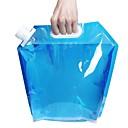preiswerte Ferngläser-2 Sätze Faltbarer Campingeimer Leicht Reise BPA frei Kunststoff Draussen zum Camping Blau Transparent