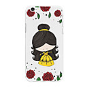 cheap iPhone Cases-Case For Apple iPhone X / iPhone 8 Plus Pattern Back Cover Cartoon / Flower Soft TPU for iPhone X / iPhone 8 Plus / iPhone 8
