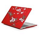 """hesapli Mac Klavye Kılıfları-MacBook Kılıf Çiçek Plastik için Yeni MacBook Pro 15"""" / Yeni MacBook Pro 13"""" / MacBook Pro 15 inç"""