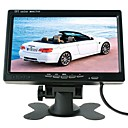cheap Cases / Covers for Huawei-ZIQIAO 7 Inch TFT Color LCD Headrest Car Parking Rear View Reverse Monitor With 2 Video Input 2 AV In For DVD VCR Reversing Camera