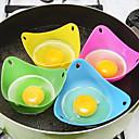 hesapli Fırın Araçları ve Gereçleri-Mutfak aletleri Silikon / Çevre Dostu Malzeme Çok-fonksiyonlu / Çevre-dostu / Yumuşak Yumurta Malzemeleri / Dondurma Malzemeleri / Tatlı Araçlar Kek / Tart / Yumurta için 2pcs