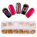 ieftine Machiaj & Îngrijire Unghii-1 pcs Instrumentul de decorare Metalic Găurit Party / Seara / Zilnic / Carnaval Nail Art Design / Unelte de punctare a unghiilor