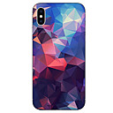 baratos Capinhas para iPhone-Capinha Para Apple iPhone X iPhone 8 Estampada Capa traseira Estampa Geométrica Macia TPU para iPhone X iPhone 8 Plus iPhone 8 iPhone 7