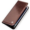 رخيصةأون حافظات / جرابات هواتف جالكسي S-غطاء من أجل Samsung Galaxy S8 Plus حامل البطاقات ضد الصدمات قلب غطاء كامل للجسم لون الصلبة قاسي جلد أصلي إلى S8 Plus