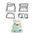 preiswerte Transistoren-Backwerkzeuge Kunststoff Backen-Werkzeug / Kreative Küche Gadget Für Kochutensilien 1set