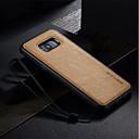 abordables Coques / Etuis pour Galaxy Série S-Coque Pour Samsung Galaxy S8 Plus S8 S7 edge S7 Antichoc Ultrafine A Faire Soi-Même Coque Couleur unie Dur faux cuir pour S8 Plus S8 S7
