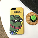 tanie Etui do iPhone-Kılıf Na Apple iPhone X / iPhone 7 Plus Wzór Czarne etui Rysunek Miękkie TPU na iPhone X / iPhone 8 Plus / iPhone 8