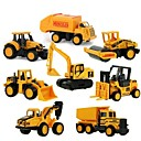 cheap Diecasts & Toy Vehicles-Mini Alloy engineering Car Truck Construction Truck Set Toy Truck Construction Vehicle Toy Car 1:64 8 pcs Kid's Boys' Girls' Toy Gift