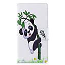 hesapli Sony İçin Kılıflar / Kapaklar-Pouzdro Uyumluluk Sony Xperia L2 Xperia XA2 Ultra Kart Tutucu Cüzdan Satandlı Flip Temalı Tam Kaplama Kılıf Panda Sert PU Deri için