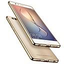 abordables Etuis / Couvertures pour Huawei-Coque Pour Huawei P10 P10 Plus Plaqué Ultrafine corps Transparent Coque Couleur Pleine Flexible TPU pour P10 Plus P10 Lite P10 Huawei P9