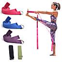 hesapli Fitness Aksesuarları-Esneme Askısı İle Pamuk Fiziksel Terapistler, Atletik Antrenörler İçin Yoga / Fitness / Jimnastik Unisex Spor ve Outdoor / Yoga