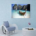 hesapli Dekorasyon Etiketleri-Duvar Çıkartması Dekoratif Duvar Çıkartmaları Döşeme Etiketler - 3D Duvar Çıkartması Manzara Denizle İlgili Tekrar Pozisyon