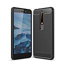 hesapli Nokia İçin Kılıflar / Kapaklar-Pouzdro Uyumluluk Nokia Nokia 6 2018 Buzlu Arka Kapak Solid Yumuşak TPU için Nokia 6 2018