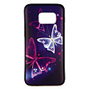 cheap Galaxy S Series Cases / Covers-Case For Samsung Galaxy S8 / S7 edge / S7 Pattern Back Cover Butterfly Soft TPU