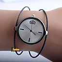 cheap Women's Watches-Women's Couple's Casual Watch Fashion Watch Quartz Silver Casual Watch Analog Ladies Casual Fashion - Black Silver Rose