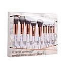 preiswerte Make-up & Nagelpflege-10-Pack Makeup Bürsten Professional Bürsten-Satz- / Rouge Pinsel / Lidschatten Pinsel Nylon Pinsel / Künstliches Haar Umweltfreundlich /