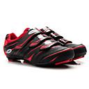 ieftine Lenjerie de corp și de bază Straturi-Tiebao® Pantofi de Cursieră Fibra de carbon Anti-Alunecare Ciclism Negru / Roșu Bărbați Pantofi de Ciclism / Plasă de Aerisire / Cârlig Buclă