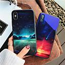 hesapli iPhone Kılıfları-Pouzdro Uyumluluk Apple iPhone X / iPhone 8 Temalı Arka Kapak Manzara Sert Temperli Cam için iPhone X / iPhone 8 Plus / iPhone 8